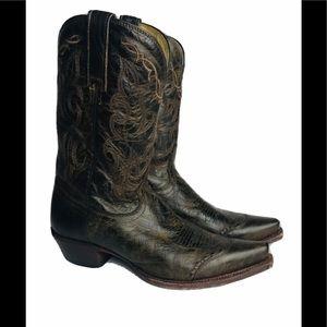 Tony Lama Boots Women's Size 9 B Sierra Goldrush
